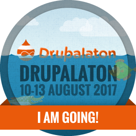 Drupalaton 2017 - I am going