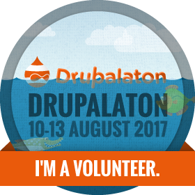 Drupalaton 2017 - I am a volunteer