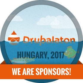 Drupalaton 2017 - We are sponsors